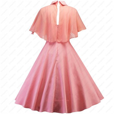 Nifty Watermelon Light Coral Short Graduation Party Girl Dress With Chiffon Cloak