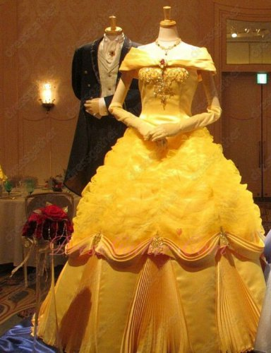 Off The Shoulder Beauty And The Beast Yellow Quinceanera Themes Ball Gown Pretty