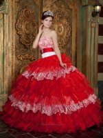 Zebra/Red Layers Winter Warm Quince Military Evening Ball Gown Buy Get Jacket Free