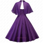 Pretty and Elegant Regency Spandex Junior Short Homecoming Formal Dress and Cloak