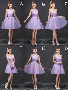Lovely Lilac Bridesmaid Series Dresses Several Pieces Wholesale Price