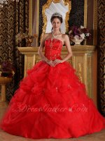 V-shaped Cut Out Strapless Ball Gown Individuation Customized Avoid Outfit Clash